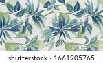 Floral Abstract Pattern Texture ...