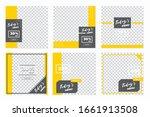 culinary social media post... | Shutterstock .eps vector #1661913508