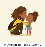 Illustration Of A Mother Gives...