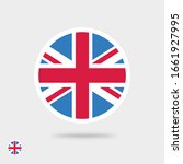 flag vector icon of united... | Shutterstock .eps vector #1661927995