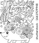 you are special font with...   Shutterstock .eps vector #1661929948