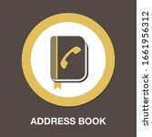 vector address book. organizer  ... | Shutterstock .eps vector #1661956312