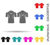 sports shirt multi color style...