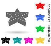 3d star multi color style icon. ...