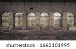 Windows In An Abandoned Factor...