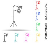 studio lamp multi color style...