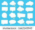 Vector Speech Clouds Chat...