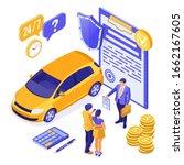 sale  purchase  insurance  rent ... | Shutterstock .eps vector #1662167605