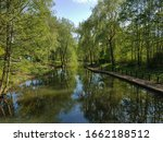 Beautyful Water Canal In The...