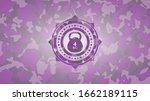 4kg Kettlebell Icon Inside Pink ...