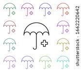 umbrella medical multi color...