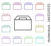 food  lunch box multi color...