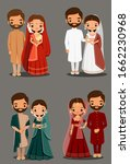 cute indian couple in...   Shutterstock .eps vector #1662230968