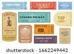 cinema  circus funfair  theater ... | Shutterstock .eps vector #1662249442