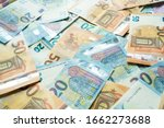 Colorful Various Value Of Euro...