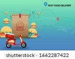 Concept Of Fast Food Delivery ...