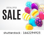 abstract party sale background. ... | Shutterstock . vector #1662294925