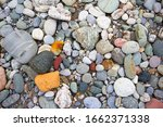 Multicolored Stones And Gravel...