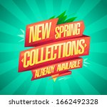 new spring collections already... | Shutterstock .eps vector #1662492328