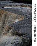 Moving Water At Water Fall