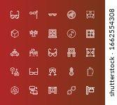 editable 25 reflection icons...   Shutterstock .eps vector #1662554308