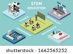 stem science engineering... | Shutterstock .eps vector #1662565252