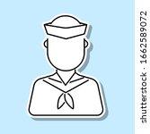 sailor avatar sticker icon....