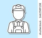 construction worker man avatar...