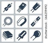 aparato,condensador,bobina,componente,condensador,cristal,detalle,diodo,eléctrica,electromagnética,electrónica,elemento,ingeniería,ferrita,icono