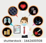 00033_man wear mask is holding... | Shutterstock .eps vector #1662600508