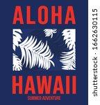 aloha vector illustration for t ... | Shutterstock .eps vector #1662630115