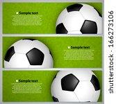soccer ball on the field | Shutterstock .eps vector #166273106