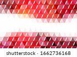 dark red vector polygon... | Shutterstock .eps vector #1662736168