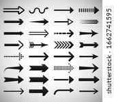 set of arrows vector... | Shutterstock .eps vector #1662741595