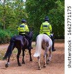 London Police Patrol The Parks...