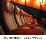 empty leather seats in row at...   Shutterstock . vector #1662799102