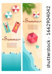 set of summer gift certificates.... | Shutterstock .eps vector #1662904042