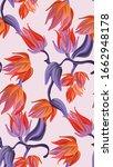 flower botanical pattern ...