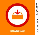 download icon   vector download ... | Shutterstock .eps vector #1663032778