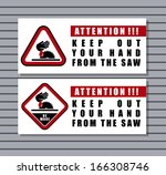 attention | Shutterstock .eps vector #166308746