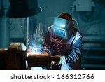 welding   Shutterstock . vector #166312766
