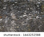 Stone Concrete Wall Surface...
