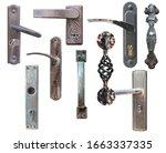 Set Of Old Door Handles...