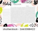 Habit Tracker. Monthly Planner...