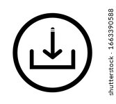 download vector icon  install... | Shutterstock .eps vector #1663390588
