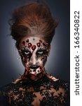A Creepy Female Halloween...