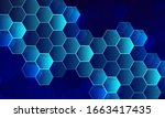 Hexagonal Pattern Background...