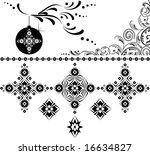 new year pattern | Shutterstock .eps vector #16634827