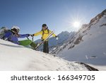 A Ski Guide Help His Student By ...
