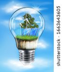 the concept of natural ...   Shutterstock .eps vector #1663643605